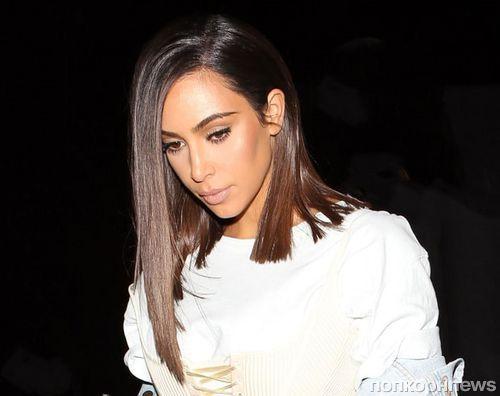 Ким Кардашьян призналась, что носит парик