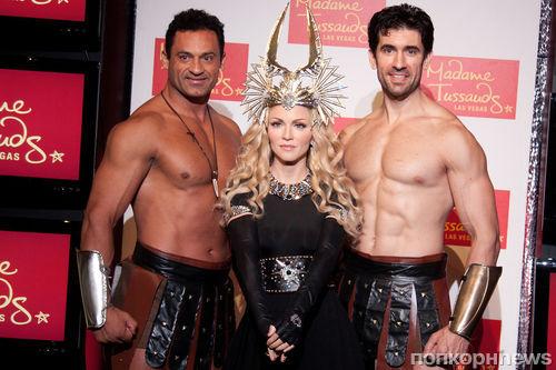 Восковая Мадонна появилась в Лас-Вегасе