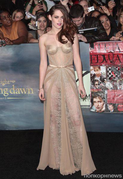Кристен Стюарт выставила платье на аукцион