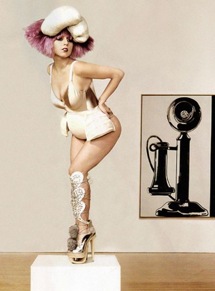 Lady GaGa в журнале Vanity Fair. Декабрь 2009