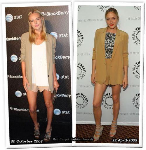 Fashion battle: Кейт Босуорт и Хлое Совиньи