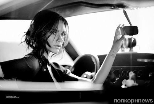 Виктория Бекхэм в журнале Vogue Австралия. Сентябрь 2013