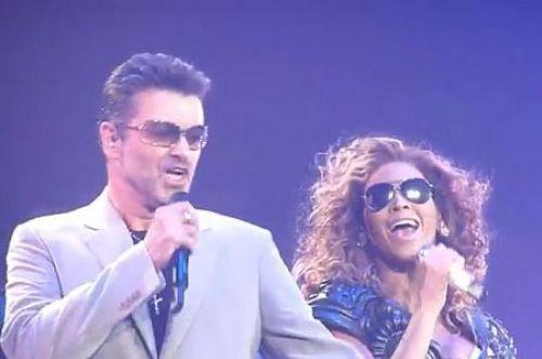 Видео: Бейонсе и Джордж Майкл