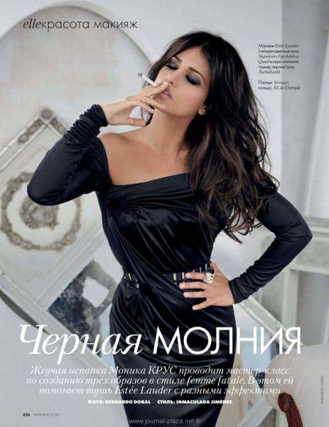 Моника Крус в журнале ELLE. Россия. Февраль 2010