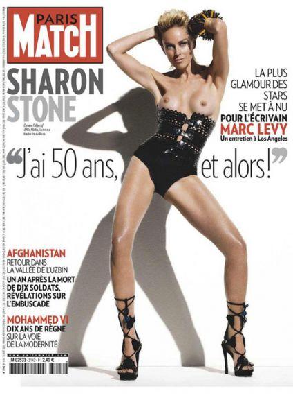 Шэрон Стоун в журнале Paris Match
