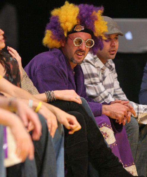 Дэвид Аркетт стал талисманом команды LA Lakers?