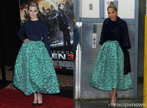Дженнифер энистон в юбках
