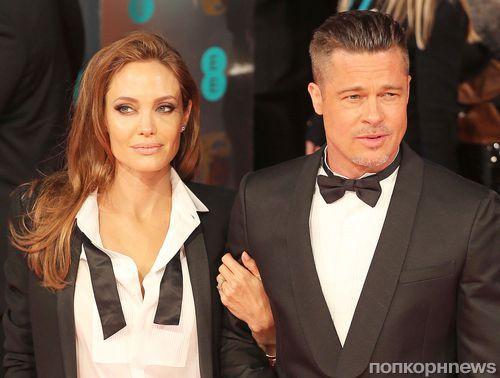 Анджелина Джоли восхищается Брэдом Питтом как отцом