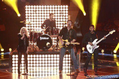 Видео: Судьи американского шоу «Голос» спели песню