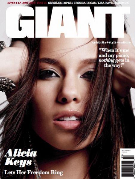 Алишия Кис для журнала Giant