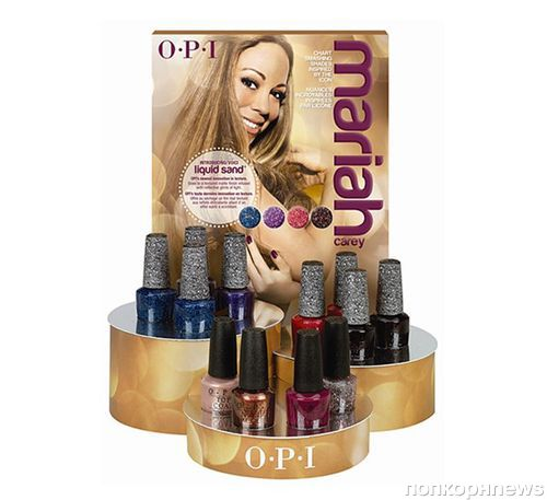 Коллекция лаков для ногтей Мэрайи Кэри для OPI