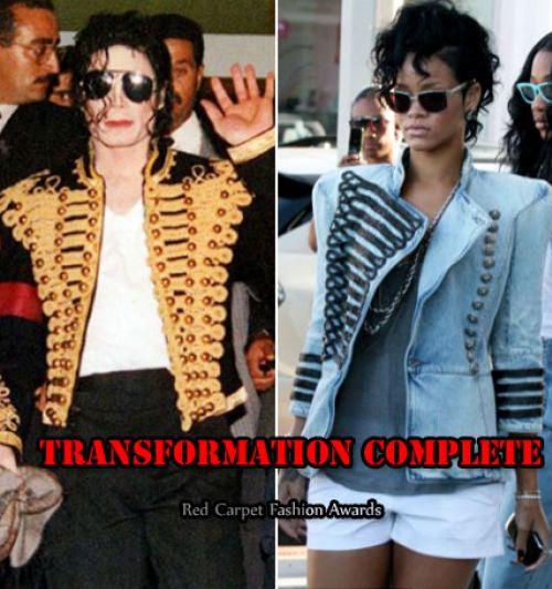 Майкл Джексон VS Рианна