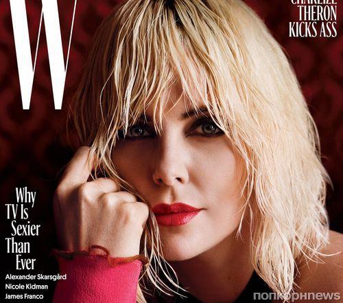 Шарлиз Терон снялась в фотосессии для W Magazine (август 2017)