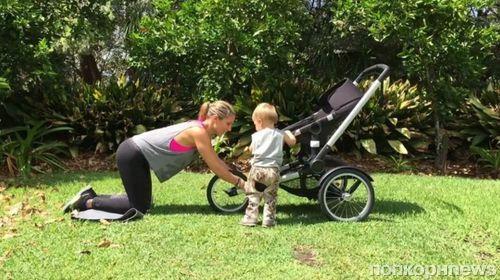 Эльза Патаки показала комплекс упражнений для молодых мам