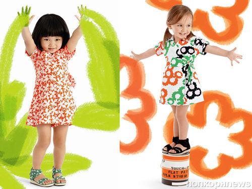 Дайана фон Фюрстенберг снова сотрудничает с  Gap над коллекцией детской одежды