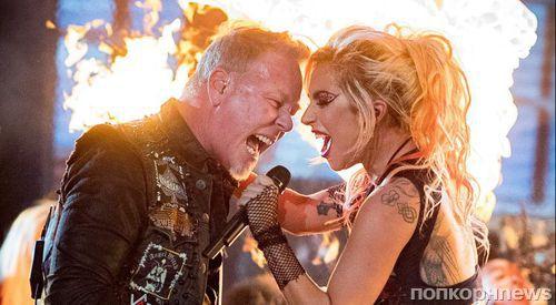 Леди Гага запишет совместный альбом с группой Metallica