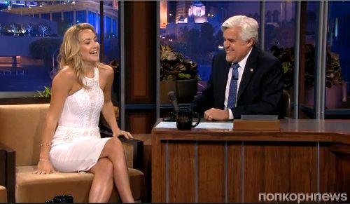 Кейт Хадсон на шоу Джея Лено