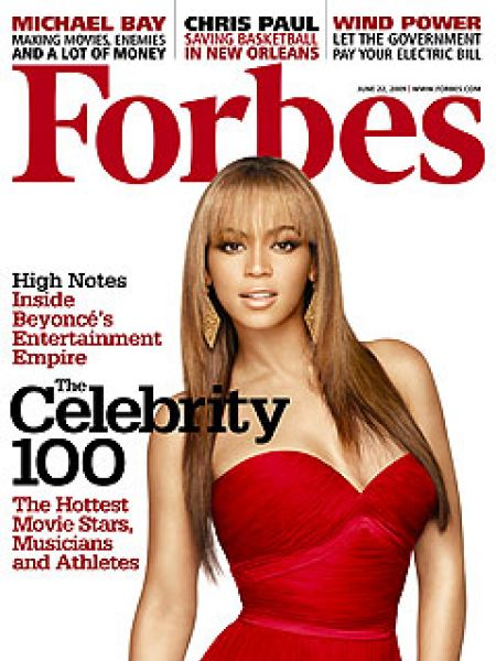 ����� ������������������ ������� 2009 �� ������ Forbes