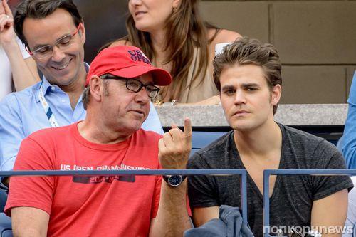 Звезды на теннисном турнире US Open