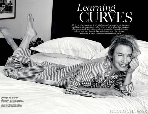 Рене Зеллвегер в журнале Vogue Великобритания: новые кадры
