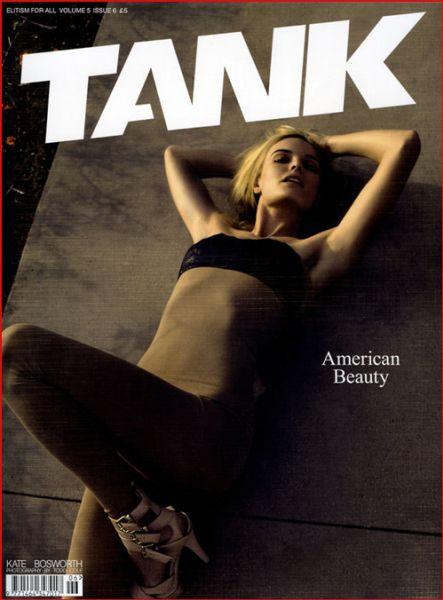 Кейт Босуорт в журнале Tаnk UK