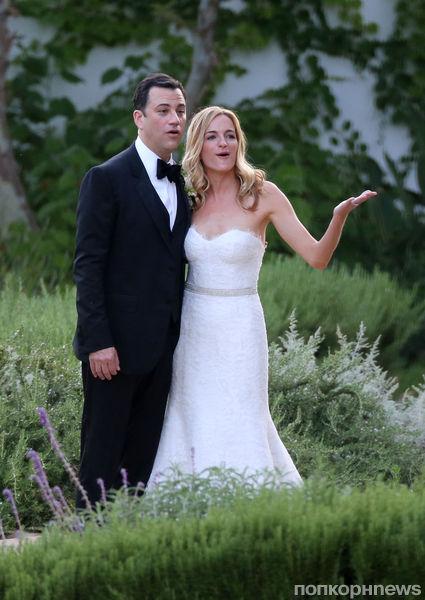 Звезды на свадьбе Джимми Киммела