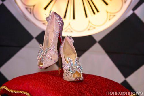 Christian Louboutin создал туфли Золушки для Disney