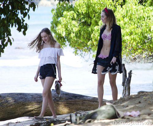 Сьюки Уотерхаус отдыхает с сестрой на Барбадосе