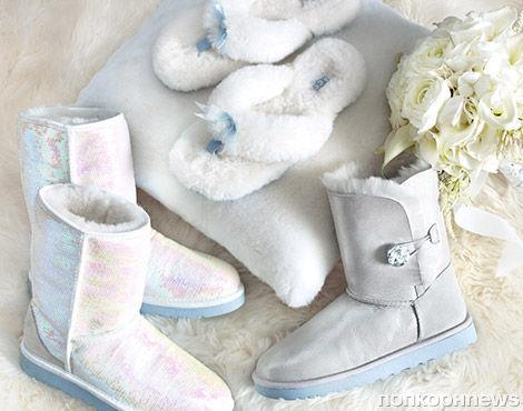 UGG Australia выпускают коллекцию свадебной обуви