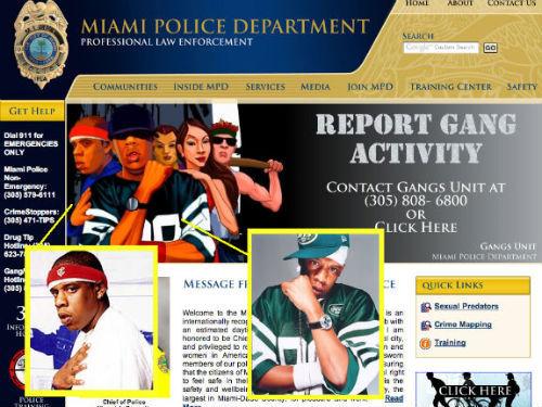 Полиция Майами думает, что Jay-Z похож на гангстера