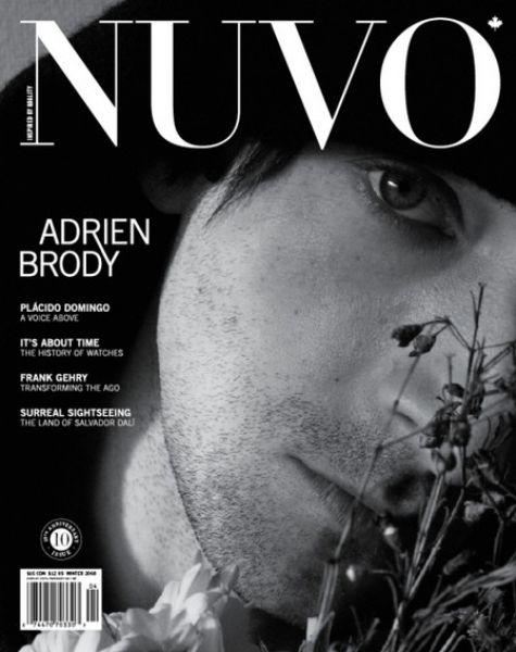 Эдриэн Броуди для журнала NUVO