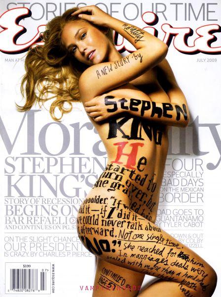 Бар Рафаели в журнале Esquire. Июль 2009