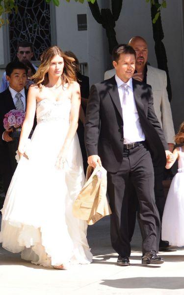 Свадьба Марка Уолберга