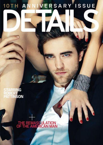 Роберт Паттинсон о съемках в эротической фотосессии для журнала Details. Видео со съемок