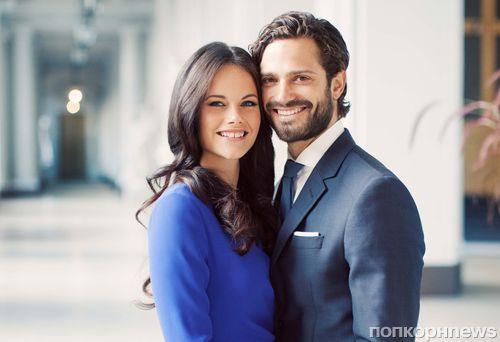 Официальные фото помолвки принца Швеции Карла Филиппа и его невесты