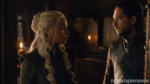 Кит Харингтон и Эмилия Кларк прокомментировали постельную сцену в финале 7 сезона «Игры престолов»