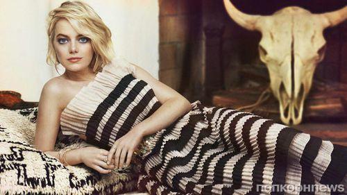 Эмма Стоун снялась в фотосессии для Marie Claire (сентябрь 2017)