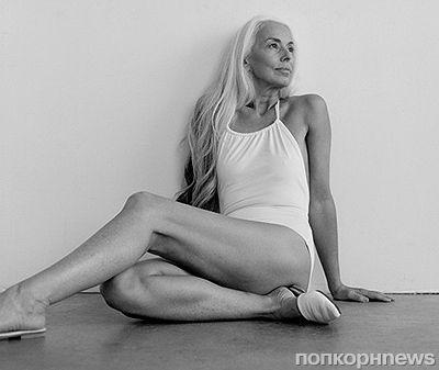 61-летняя модель снялась в рекламе купальников