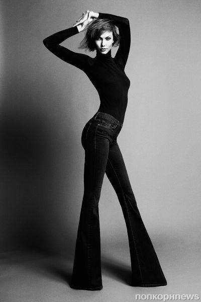 Карли Клосс выпускает джинсы для высоких девушек