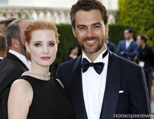 Джессика Честейн вышла замуж за своего бойфренда в Италии