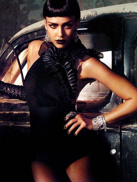 Джессика Альба в журнале Vogue. Italia. Апрель 2011