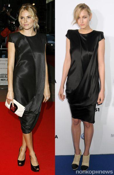 Fashion battle: Сиенна Миллер и Лили Собески