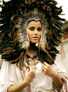 "Фотографии со съемок нового клипа Нелли Фуртадо -""Bajo Otra Luz"""