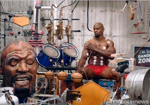 Терри Крюс  - человек-оркестр. Реклама Old Spice