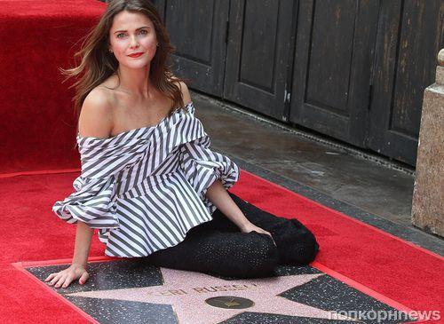 Кэри Расселл получила звезду на голливудской Аллее славы