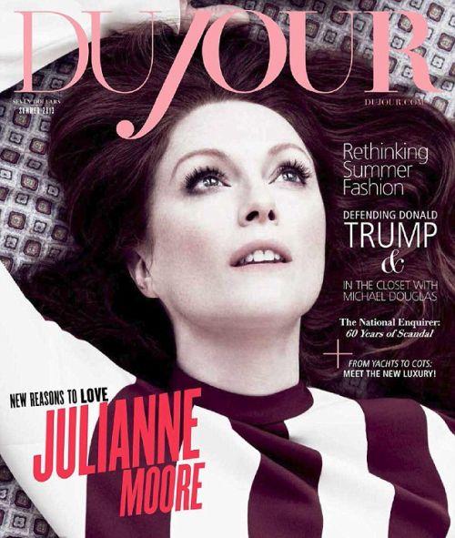 Джулианна Мур в журнале DuJour. Лето 2013