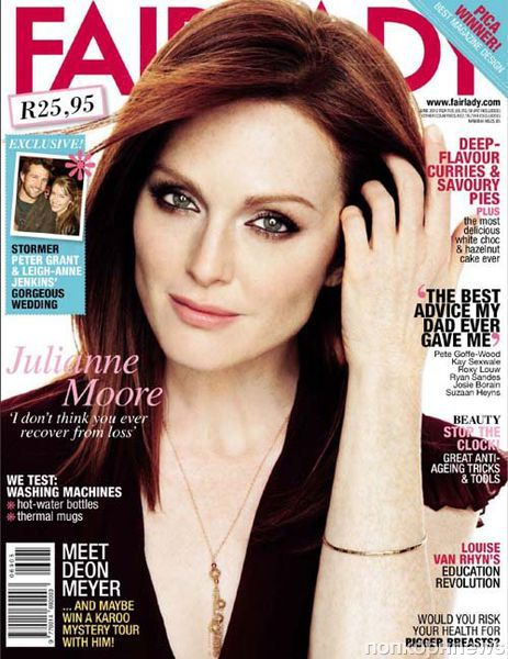 Джулианна Мур в журнале Fairlady. Июнь 2012
