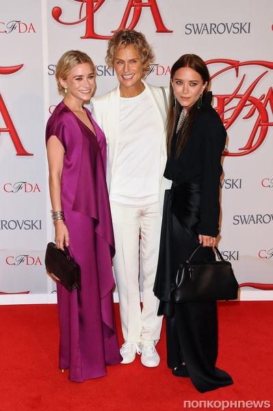 Звезды на церемонии CFDA Fashion Awards 2012
