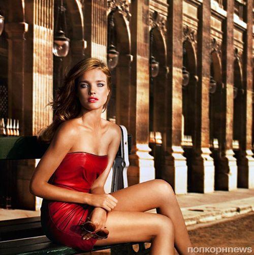 Наталья Водянова в рекламной кампании новой коллекции декоративной косметики Guerlain Terracotta Sun In The City
