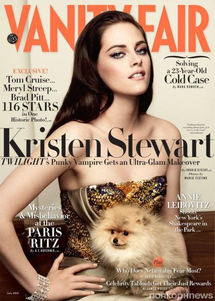Кристен Стюарт в журнале Vanity Fair. Июль 2012